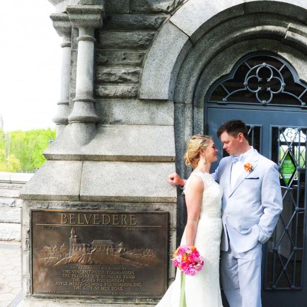 Daphne and Brian marry in NYC's Central Park