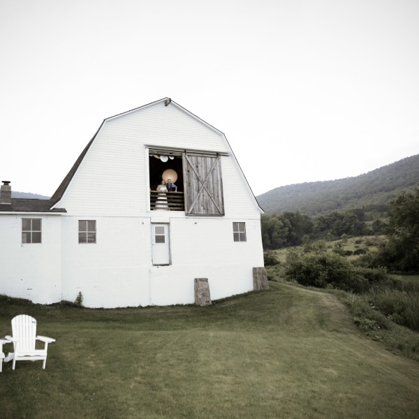 Kasie Lynne and Steven have a Barn Wedding at The Inn at West Settlement in Roxbury, NY