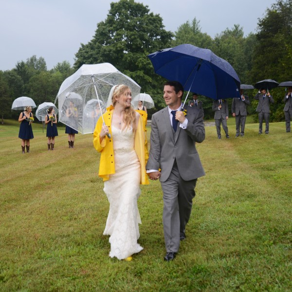 Stephanie and Eric marry at Twin Lakes Resort in the Hudson Valley