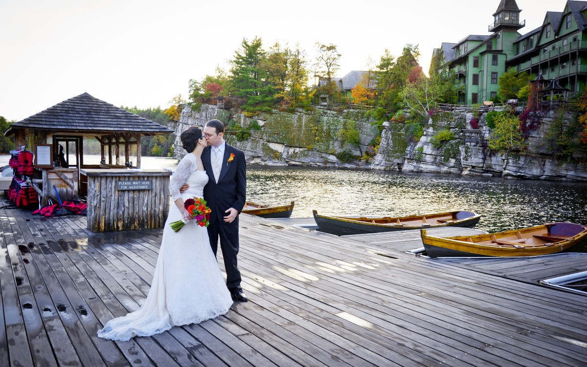 Ben And Catherine Marry At Mohonk Mountain House