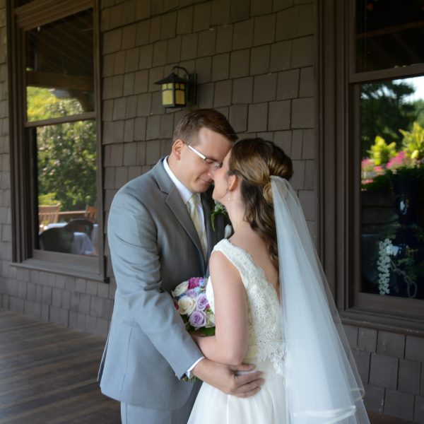 Caitlin and Jason at Mohonk Mountain House