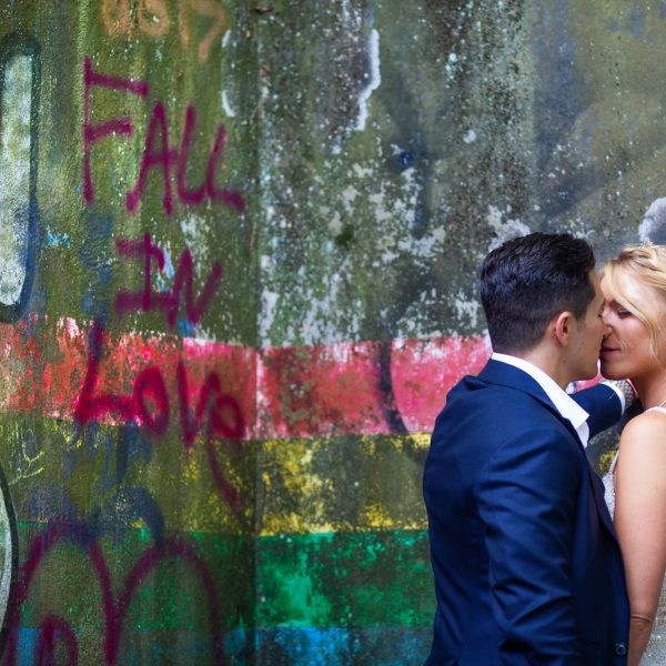 Katie and Alex marry at Bear Mountain Inn