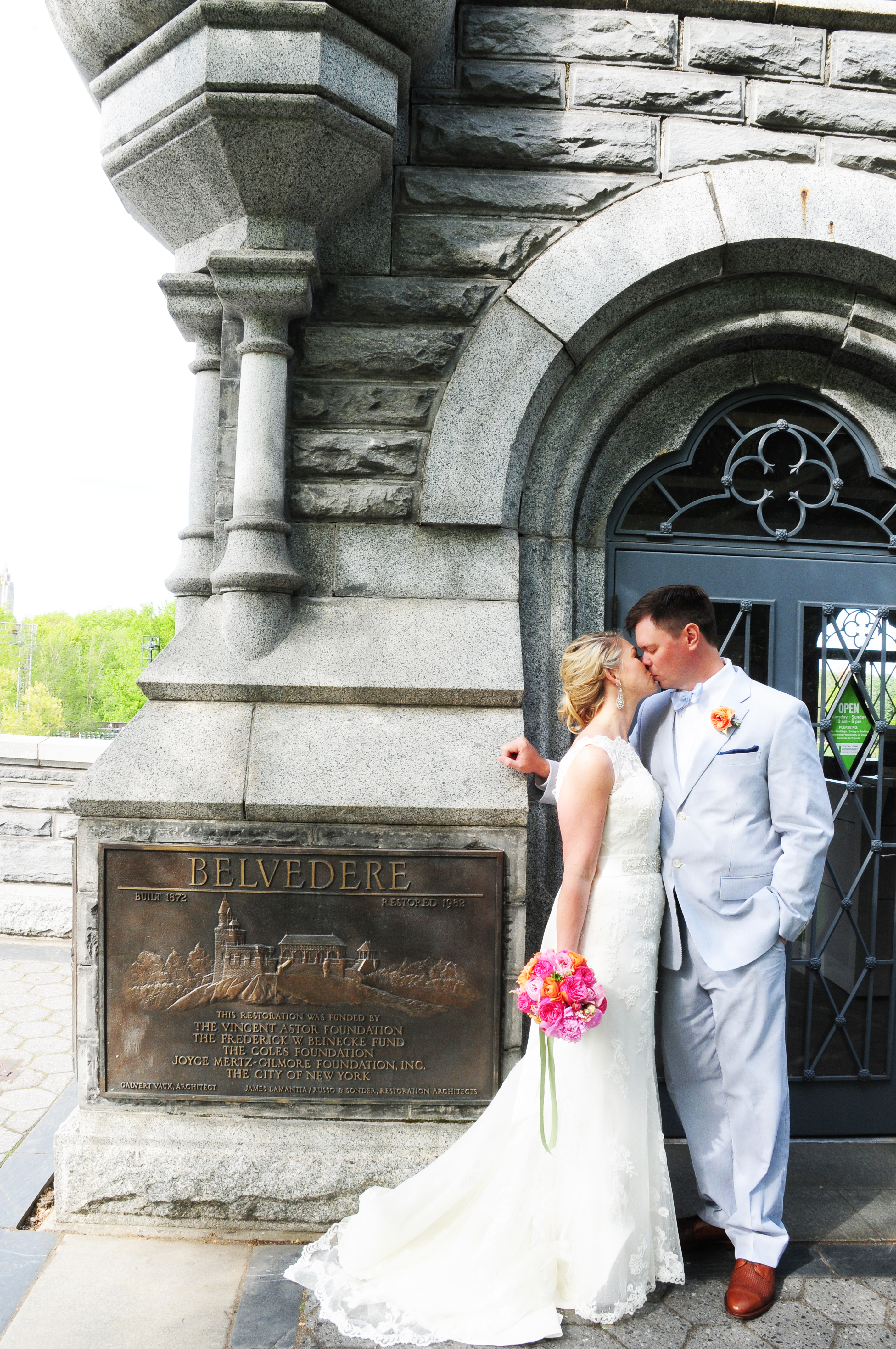 Daphne and Brian marry in NYC's Central Park - Hudson Valley Wedding