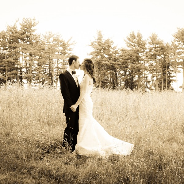 Lindsay and Scott Marry at The Garrison in New York's Hudson Valley
