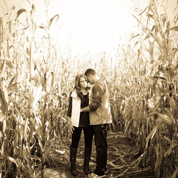 Hudson Valley Fall Engagement of Michelle and Rich