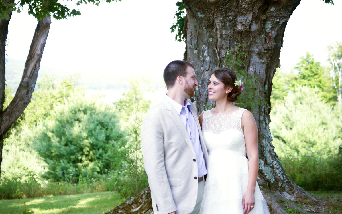 Indea and Ian Marry at Ashokan Dreams on a perfect summer day