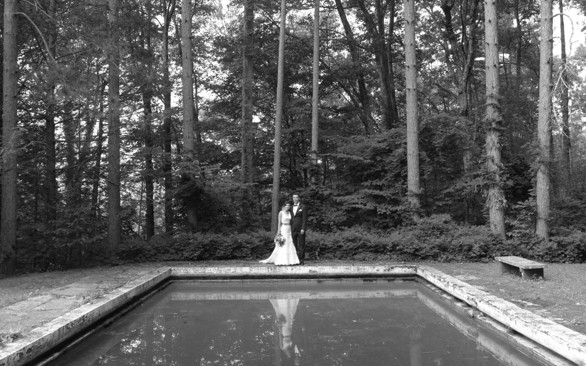 Hallie and Marcello marry at Onteora Mountain House