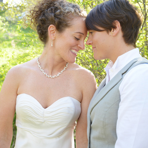 Megan and Hillary Marry at Audrey's B&B in the Hudson Valley