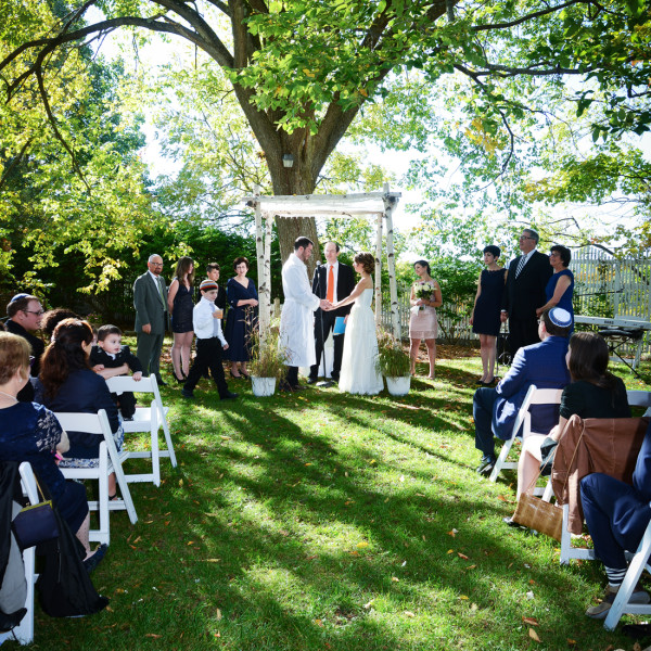 Yael and Ben have a Hudson Valley wedding at Round Hill House