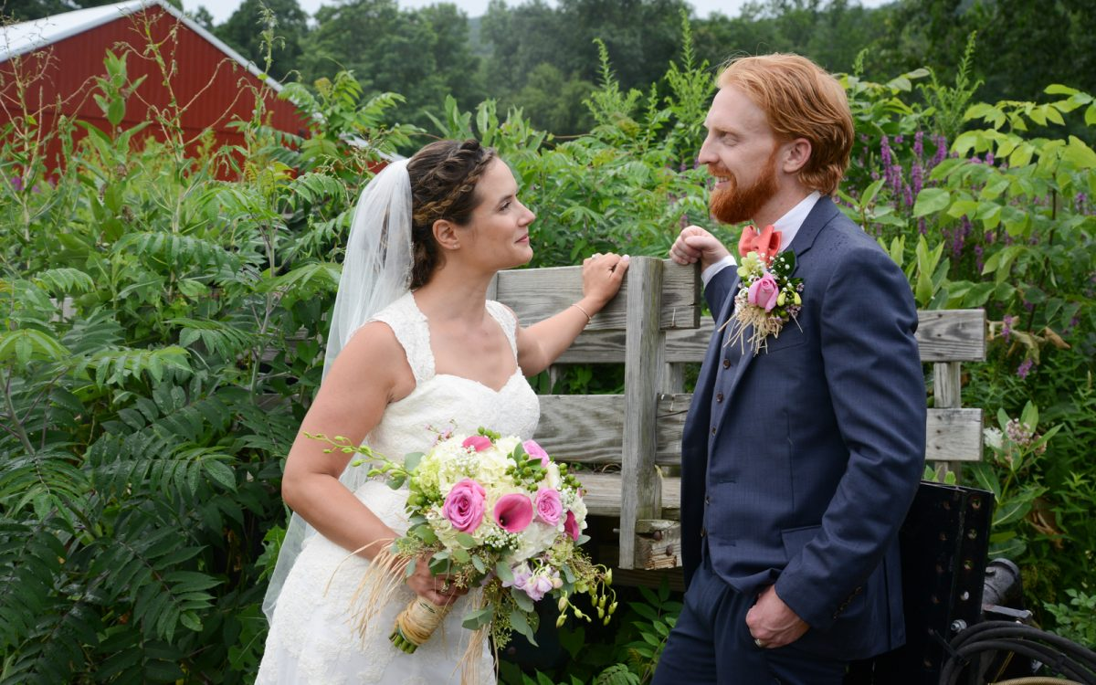 Will and Stacey marry at Bad Seed Cider
