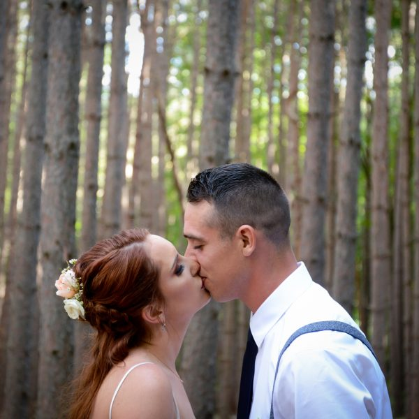 Amy & Spencer marry at Roxbury Barn in Roxbury NY